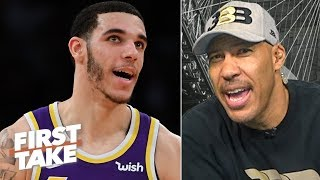 Download LaVar takes credit for the Lakers trading Lonzo: 'It's raggedy over there'   First Take Video