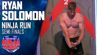 Download Semi-final Run: Ryan Solomon | Australian Ninja Warrior 2017 Video