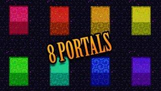 Download Minecraft: THE 8 PORTALS Video