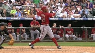 Download ARI@COL: Young goes yard three times in the game Video