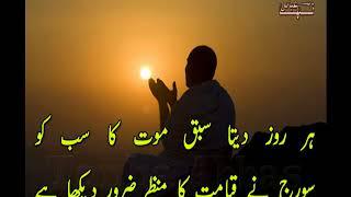 Download Haqiqat Ke Aaine Me - Very Sad Two Line Urdu Poetry - Rj Atif Masood Voice- Tanha Abbas Ghazal Video