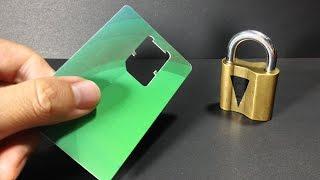Download 4 Amazing life hacks with Locks Video
