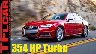 Download 2018 Audi S4 Review: 354 HP + AWD = 4.4 Seconds from 0-60 MPH Video