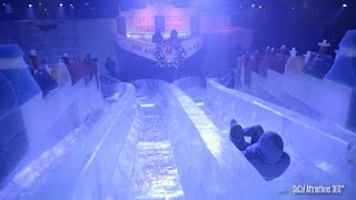 Download [4K] Sliding down an Ice Slide & Ice Tubing at Queen Mary CHILL 2015 Video