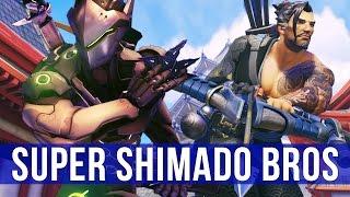 Download Overwatch Brawl Gameplay: Super Shimado Bros! (Genji & Hanzo) Video