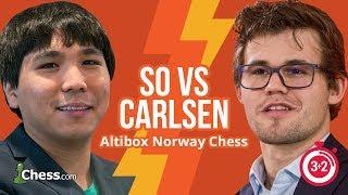 Download Norway Blitz Chess Tournament: So vs Carlsen Video