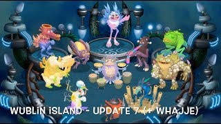 Download My Singing Monsters - Wublin Island Evolution (Update 1-16) (Full Songs) Video