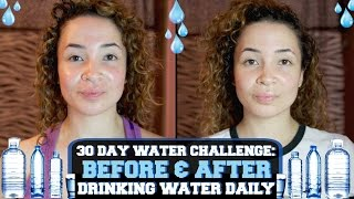 Download 30 DAY WATER CHALLENGE: BEFORE & AFTER DRINKING WATER DAILY Video