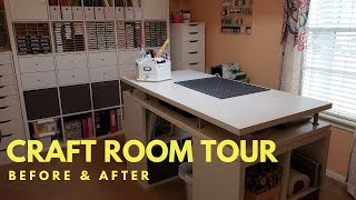 Download Craft Room Makeover Tour   Before & After Video