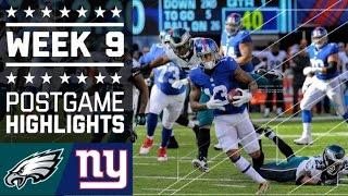 Download Eagles vs. Giants | NFL Week 9 Game Highlights Video