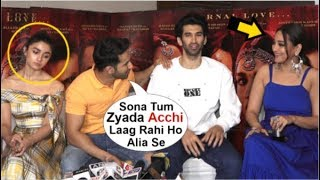 Download Alia Bhatt UPSET After Varun Dhawan Gives More ATTENTION To Sonakshi Sinha At Kalank Movie Promotion Video