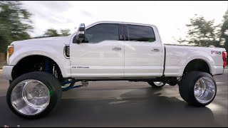 Download HOW A 2017 F250 PLATINUM IS BUILT! 8 INCH CHROME LIFT ON 26X16 FROM START TO FINISH!!!! Video