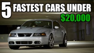 Download Top 5 Fastest Cars under $20,000 Video
