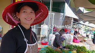 Download Vietnam || Buon Ho Market || Dak Lak Province Video