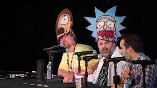 Download Rick and Morty Live Reading @ Comic-Con Video
