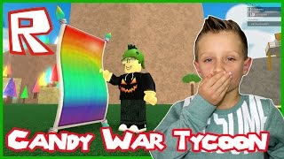 Download Lets Eat Some Candy in Candy WAR Tycoon / Roblox Video