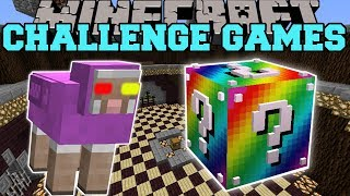 Download Minecraft: MR. RAINBOW CHALLENGE GAMES - Lucky Block Mod - Modded Mini-Game Video