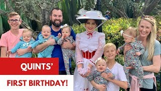 Download Quints First Birthday! - A Dream Come True Video