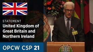 Download The United Kingdom Statement by H.E. Sir Geoffrey Adams at CSP21 Video