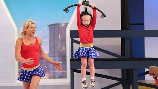 Download 5-Year-Old Crushes American Ninja Warrior Obstacle Course Video