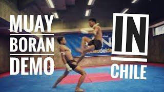 Download Muay boran show in Chile Video