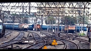 Download Epic PENTA parallel action departing from HOWRAH : Indian Railways Video