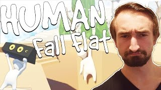 Download GRABBIN HIS NUTS!? - HUMAN FALL FLAT FUNNY MOMENTS! Video
