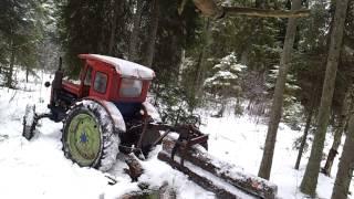 Download T40 ja omavalmistatud metsaveohaarats Video