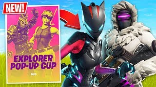 Download Fortnite Season 7 Duos Explorer Pop-Up Cup! // Pro Scrims // (Fortnite Live Gameplay) Video