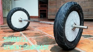 Download Amazing How to make homemade weight (Barbell)/ for gym at home Video