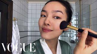 Download Model Fei Fei Sun Perform Skin-Care Magic | Beauty Secrets | Vogue Video