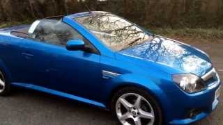Download Vauxhall Tigra 1.4 i 16v Sport 2dr convertible Video