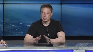 Download 'Crazy things can come true': Elon Musk discusses Falcon Heavy launch: Full presser Video