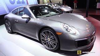 Download 2017 Porsche 911 Carrera S - Exterior and Interior Walkaround - 2016 LA Auto Show Video