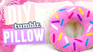 Download DIY: DONUT PILLOW! (No Sew) Video