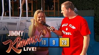 Download The 9th Annual Jimmy Kimmel Live Belly Flop Competition Video