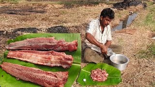 Download Biggest Fish Catch n FISH Cook with Eggs Dish cuisine | Fish Skinless boneless pakora recipe Food Video