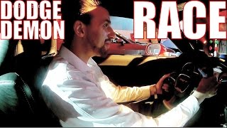 Download I RACED IN A DODGE DEMON!! Video