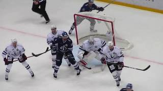 Download Pavel Francouz in action during the Dynamo @ Traktor hockey game Video