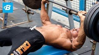 Download 6'9″ ft Tall Bodybuilder Ike Catcher: Chest & Shoulder Workout Video