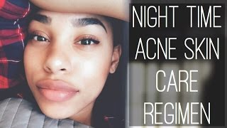 Download NIGHT TIME ACNE SKIN CARE REGIMEN Video