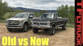 Download Old vs New: 1974 vs 2017 Ford F-250 - How Much Has The Super Duty Changed in 43 Years? Video