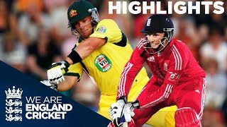 Download England & Australia In Huge Scoring T20 | 2013 - Highlights Video