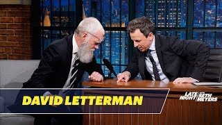 Download David Letterman Gives Seth a Tick Video