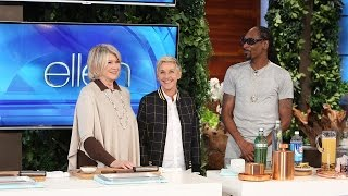 Download Martha Stewart and Snoop Dogg Share a Taste of Their New Show! Video