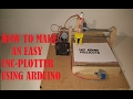 Download HOW TO MAKE AN EASY ARDUINO CNC PLOTTER part 1 Video