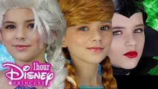 Download 1 Hour Disney Princess Makeup! Frozen Elsa, Anna, Maleficent, Inside Out Disgust & More! KITTIESMAMA Video