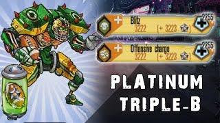 Download Platinum Triple B Stats and Skills - Mutants: Genetic Gladiators Video