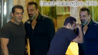 Download Salman Khan & Sanjay Dutt Celebrate Diwali 2018 Together | Salman ENDS FIGHT With Sanjay Dutt Video