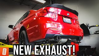 Download Building the Ultimate BMW (6 Speed Manual, F30 335i) - Part 6 (FULL EXHAUST SYSTEM!) Video